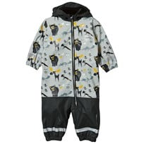 Lindberg Lysekil Baby Rain Coverall Anthracite Anthracite