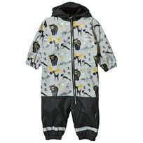 Lindberg Lysekil Baby Rain Coverall Anthracite Black