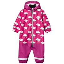 Lindberg Lersten Baby Rain Coverall Deep Orchid Purple