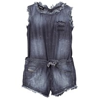 Diesel Blue Denim Jumpsuit K01