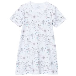 Livly Nightgown Pink World Map