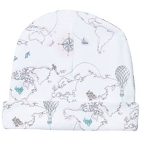 Livly Ninni Hat Pink World Map Pink World Map