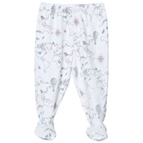 Livly Footed Pants Pink World Map Pink World Map