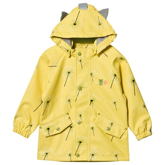 Kattnakken Rain Jacket Blow Yellow Sitron Blås