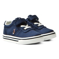 Ralph Lauren Hanford Canvas Sneaker Navy NAVY TWILL