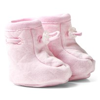 Joha Single Layer Booties Light Pink Light red w. optical white