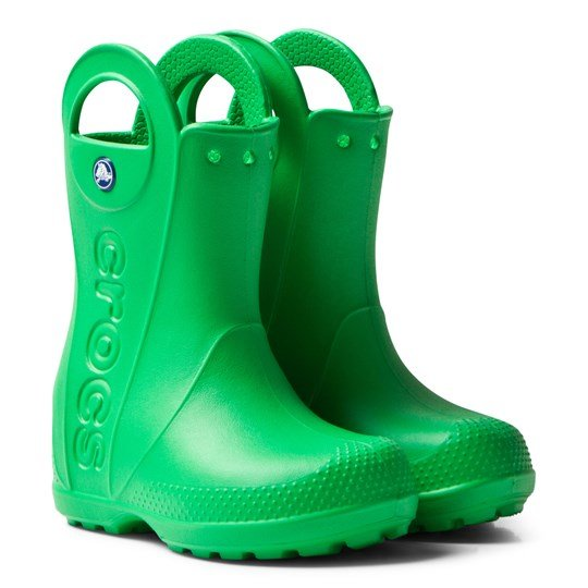 Crocs Handle It Rain Boot Kids  Grass Green Grass Green