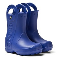 Crocs Handle It Rain Boot Kids Cerulean Blue Cerulean Blue