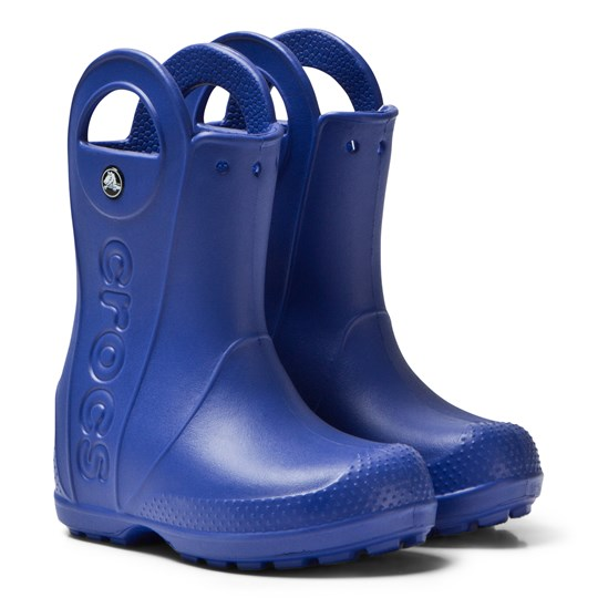 42058b5c90fbc Crocs - Handle It Rain Boot Kids Cerulean Blue - Babyshop.com