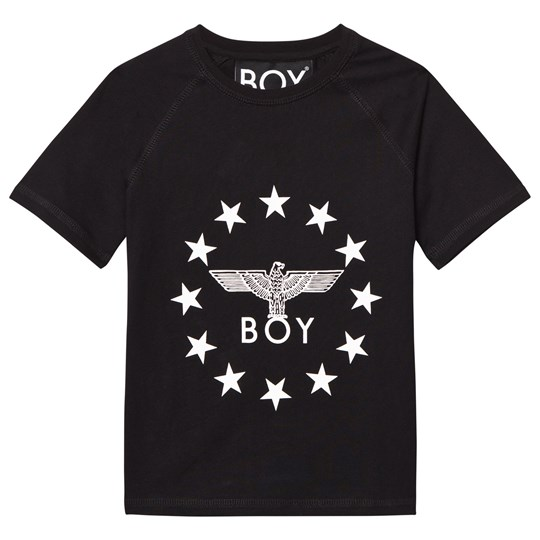 Boy London Boy Globe Star Tee Black/White Black