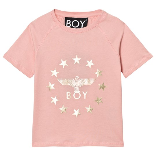 Boy London Boy Globe Star Tee Pink/Gold Pink/Gold
