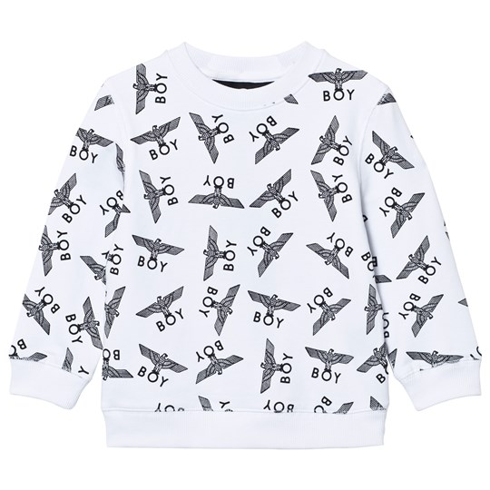 Boy London Boy Repeat Sweat White/Black White/Black