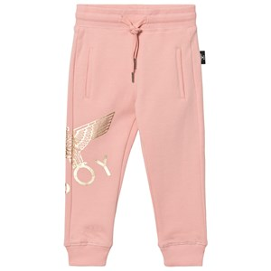 Image of Boy London Boy London Eagle Joggers Pink/Gold 7-8 years (2839677959)