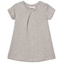 Joha Knit Dress Silver Melange Silver Melange