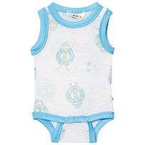 Joha Sleeveless Baby Body Blue Beach Life Print Beach Life Boy