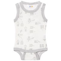 Joha Sleeveless Baby Body Beach House Print Beach House