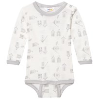 Joha Long Sleeve Baby Body Beach House Print Beach House