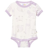Joha Zoo Short Sleeve Baby Body Fair Orchid Zoo AOP Girl