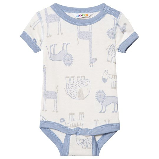 Joha Zoo Short Sleeve Baby Body Forever Blue Zoo AOP Boy