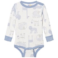 Joha Zoo Long Sleeve Baby Body Forever Blue Zoo AOP Boy