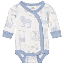 Joha Zoo Baby Body With Side Closing Forever Blue Zoo AOP Boy
