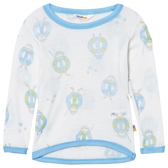 Joha Long Sleeve Tee Blue Beach Life Print Beach Life Boy