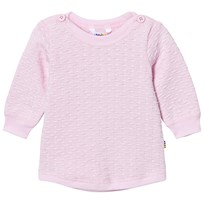 Joha Knit Sweater Light Pink Light red w. optical white