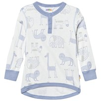 Joha Zoo Long Sleeve Tee Forever Blue Zoo AOP Boy