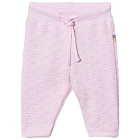 Joha Knit Pants Light Pink Light red w. optical white