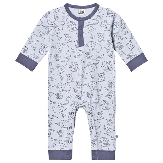 Pippi Baby One-Piece Pearl Blue Pearl Blue