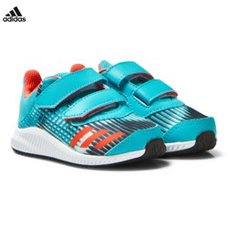 adidas Performance Blue Infants FortaRun Trainers