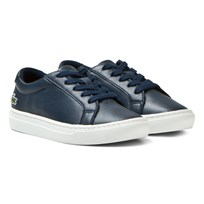 Lacoste L.12.12 Classic Court Leather Kids Sneakers Navy 003