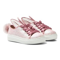 Minna Parikka Tail Sneaks Mini Pink Glitter POWDER SHEARLING
