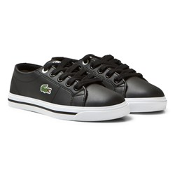 Lacoste Black Marcel Synthetic Leather Children Court