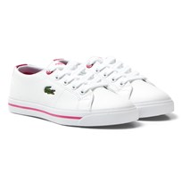 Lacoste White Marcel Synthetic Leather Children Court B53