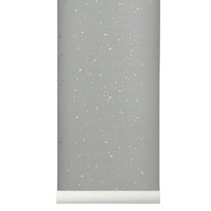 Image of ferm LIVING Confetti Wallpaper - Grey One Size (458295)