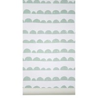 ferm LIVING Half Moon Wallpaper - Mint Mint