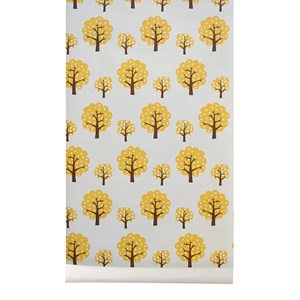 Image of ferm LIVING Dotty Wallpaper - Yellow (2743715915)