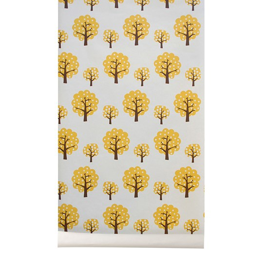 ferm LIVING Dotty Wallpaper - Yellow Yellow