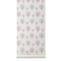 ferm LIVING Dotty Wallpaper - Rose Multi