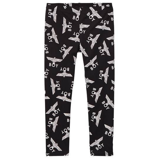 Boy London Boy Repeat Leggings Black/White Sort