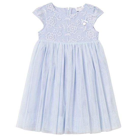 Le Chic Ice Blue Tulle and Embroidered Ceremony Dress 106