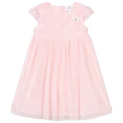 Le Chic Pink Tulle and Embroidered Ceremony Dress