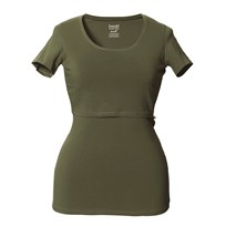 Boob Classic Top Short Sleeve Burnt Olive Burnt Olive