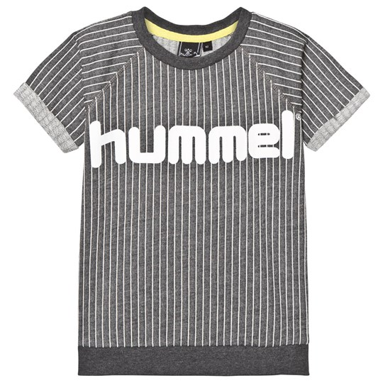 Hummel Knut Sweatshirt Grey Stripe Grey Stripe