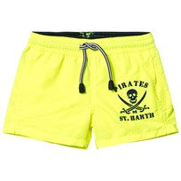 MC2 St Barth Fluo Yellow Pirate Trunks 94 PIRATES FLUO