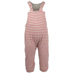Imps & Elfs Overall Grey/Red Stripes