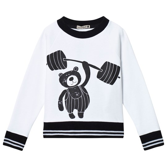 Koolabah Sporty Bear Sweater Black/White Black