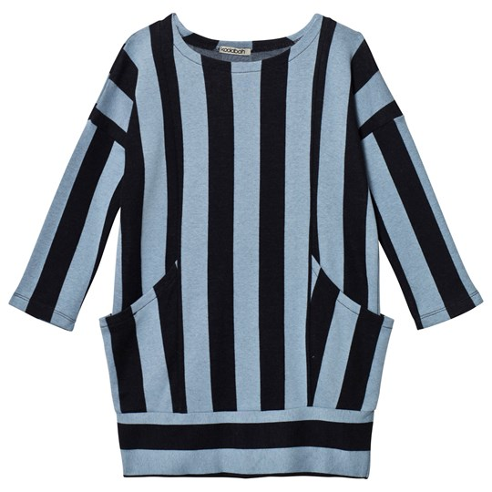 Koolabah Striped Pocket Dress Black/Light Blue Black/Light Blue