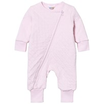 Joha Onesie in Light Pink Light red w. optical white